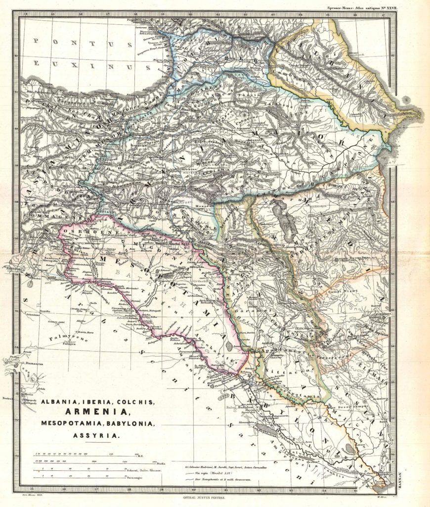 Spruner, Karl von, Spruner-Menke Atlas Antiquus,, (Gotha: Justus Perthes), 1865.